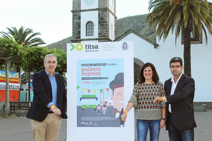 Titsa ayuda al traslado a la Romería