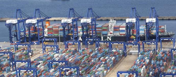 Las terminales de contenedores de Puerto de Algeciras operaron más en 2016