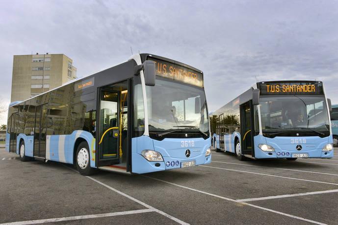 TUS incorpora dos nuevos autobuses más eficientes y accesibles
