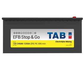 TAB Batteries presenta su nueva batería EFB en Caja C