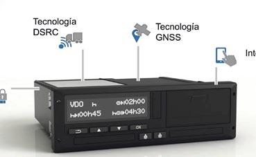 Continental explicó el funcionamiento del Tacógrafo 4.0