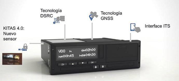 VDO anuncia la llegada del nuevo tacógrafo 4.0 con tecnología inteligente para el año 2019