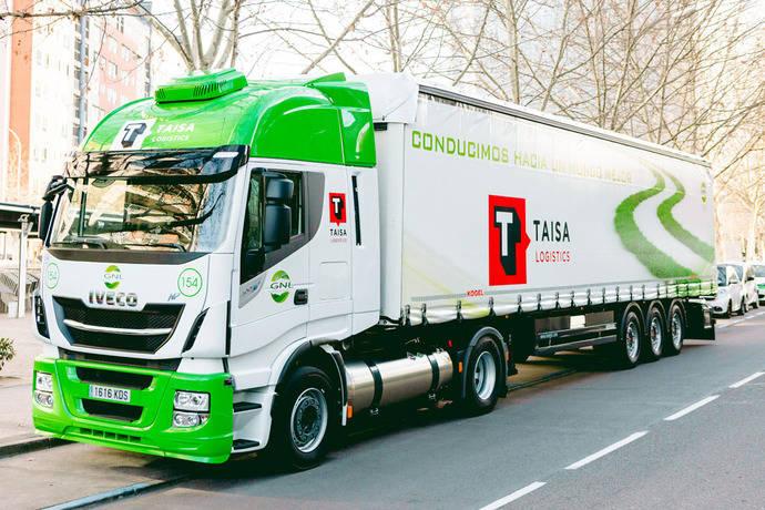 Taisa aumenta su sostenibilidad, tras comprar camiones de gas natural