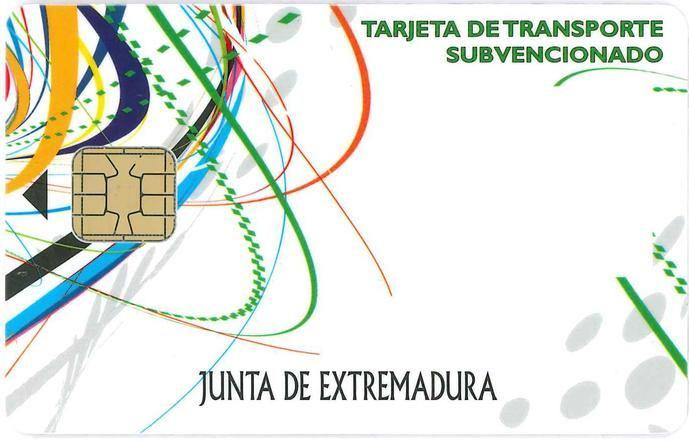 Abierto el plazo para la solicitud de tarjetas de transporte en Extremadura