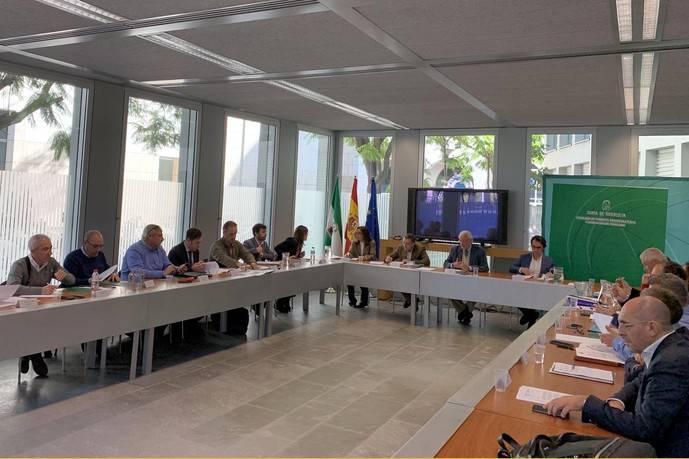 Andalucía entrega al Taxi y a los VTC un borrador de propuestas
