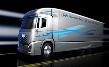 Prototipo del nuevo camión de Hyundai.