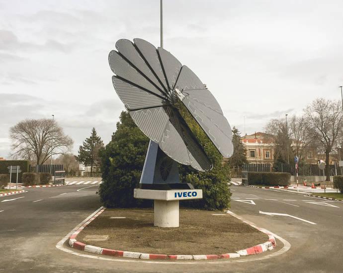 Iveco estrena en Valladolid primera 'Smart Flower' de Castilla y León