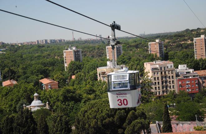Teleférico de Madrid reabre con un completo protocolo de medidas de seguridad