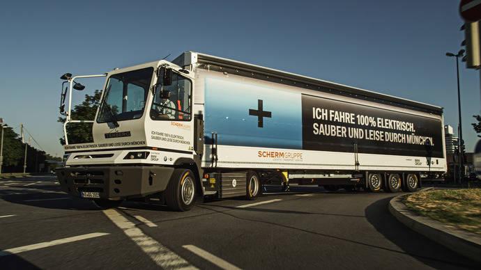 Camiones eléctricos equipados con Allison disminuyen las emisiones de Múnich