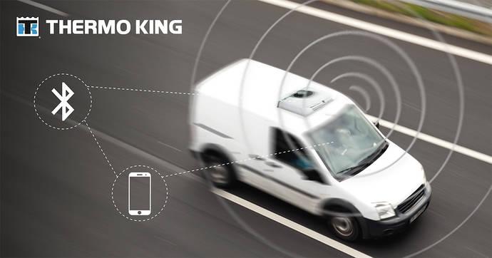 Thermo King coloca conectividad en sus equipos frigoríficos para el transporte