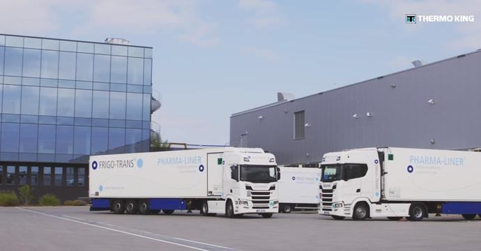 Freight Line Europe y Frigo-Trans usan Thermo King Connected Solutions