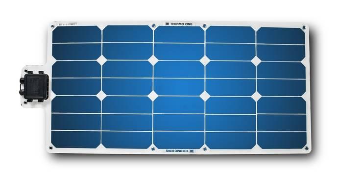 Los paneles solares ThermoLite de Thermo King aseguran una carga continua