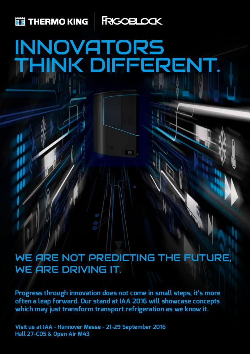 Thermo King está dispuesta a innovar en la IAA 2016
