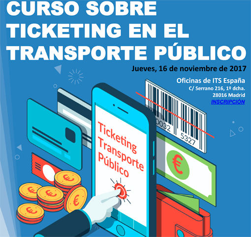 ITS anuncia curso de Ticketing en el Transporte Público