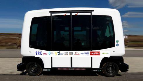 El Ministerio de Ciencia apoya al autobús autónomo de Timanfaya