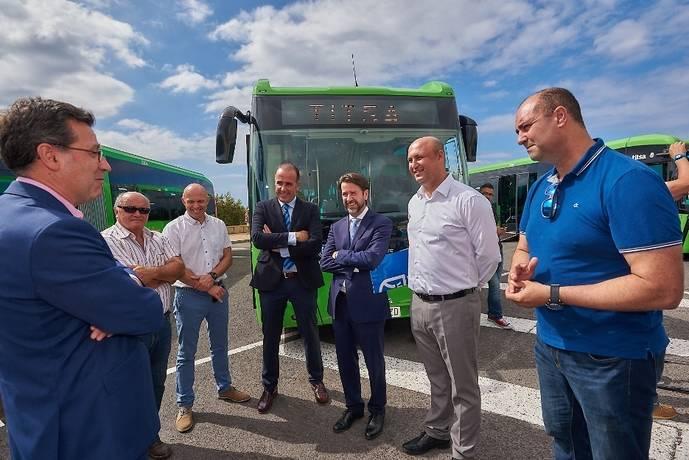 Tenerife renueva su flota de autobuses para la zona sur de la isla