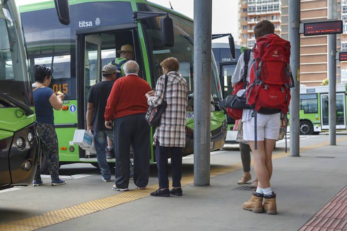 Aumentan los usuarios del transporte público según los datos del INE