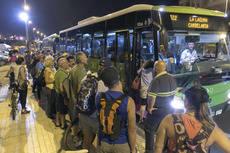 Titsa transporta a 14.000 personas en la Candelaria