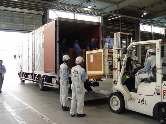 El Museo de Tokyo explica su proceso para transportar obras de arte