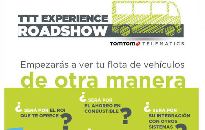 TomTom Telematics comienza su ronda de Roadshows en España en Zaragoza