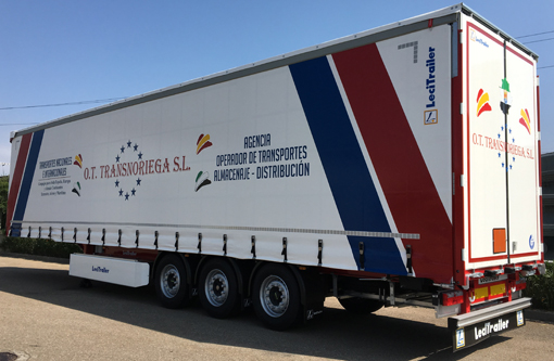 Ot Transnoriega incorpora 25 Lonas XL Lecitrailer