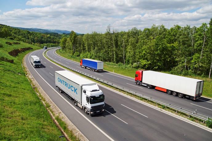 El transporte de mercancías aumenta hasta un 40% en julio por la demanda de destinos turísticos