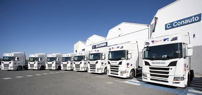 Transportes Cruz ha incorporado a su flota 25 unidades Scania R450