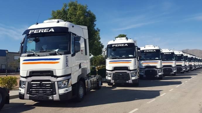 Transportes Perea aumenta su flota con 29 Renault Trucks T