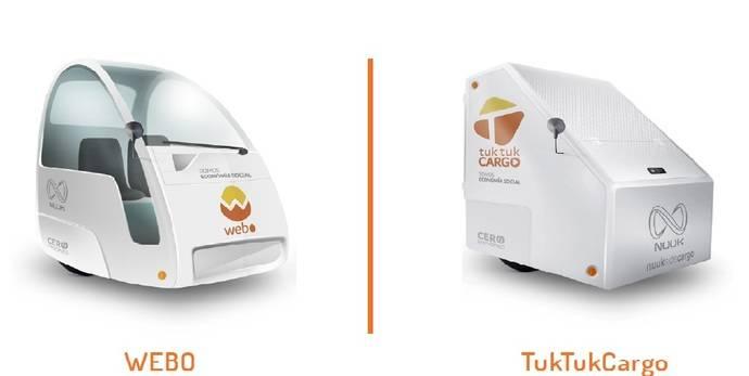Tuk Tuk Ecomobility lanza su nuevo vehículo cero emisiones