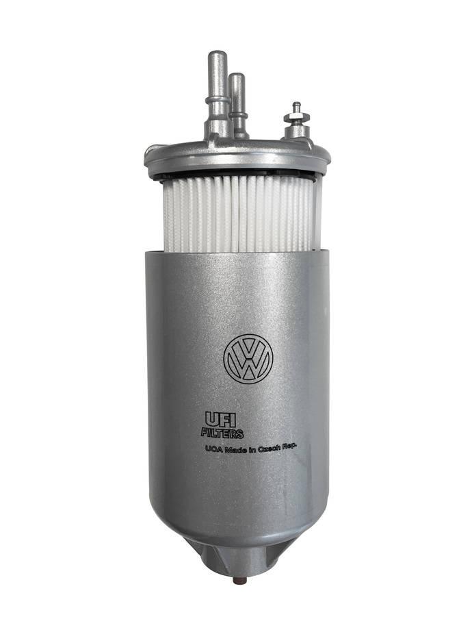UFI Filters presenta un nuevo filtro de gasoil para la Crafter