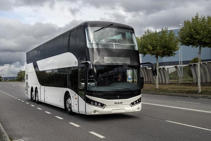 Unvi, autobús de doble piso para Suecia
