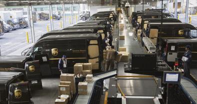 UPS amplía su capacidad aérea desde y hacia España