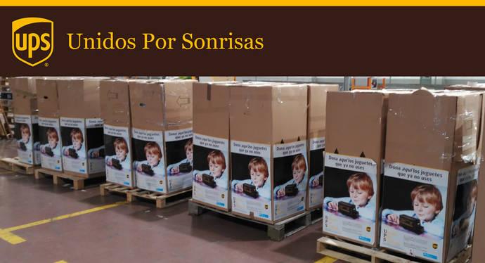 UPS reparte más de 7.000 juguetes para niños desfavorecidos