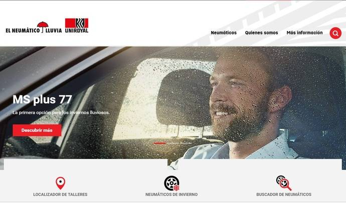 Uniroyal lanza su nueva página web en español