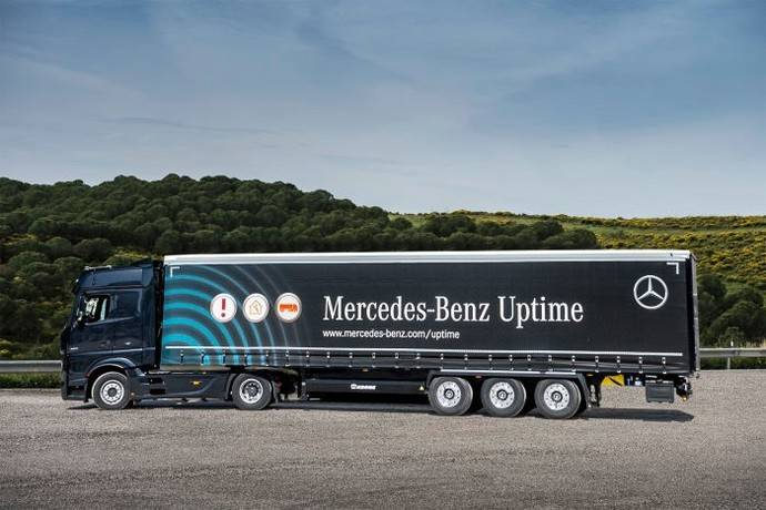 Mercades-Benz Uptime ahora integra remolque