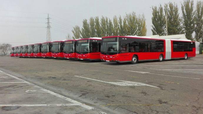 Zaragoza compra 11 City Versus a Grupo Castrosua