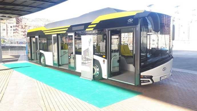 Solaris muestra el Urbino 12 en el Sustainable Urban Mobility de Bilbao