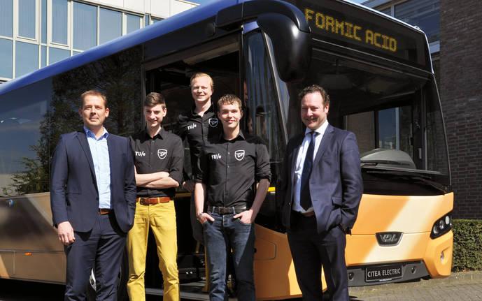 VDL Bus & Coach y Team FAST desarrollarán el primer autobús del mundo que funcione con ácido fórmico