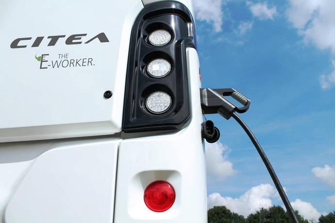 VDL Bus & Coach presenta el Citea LLE eléctrico de nueve metros