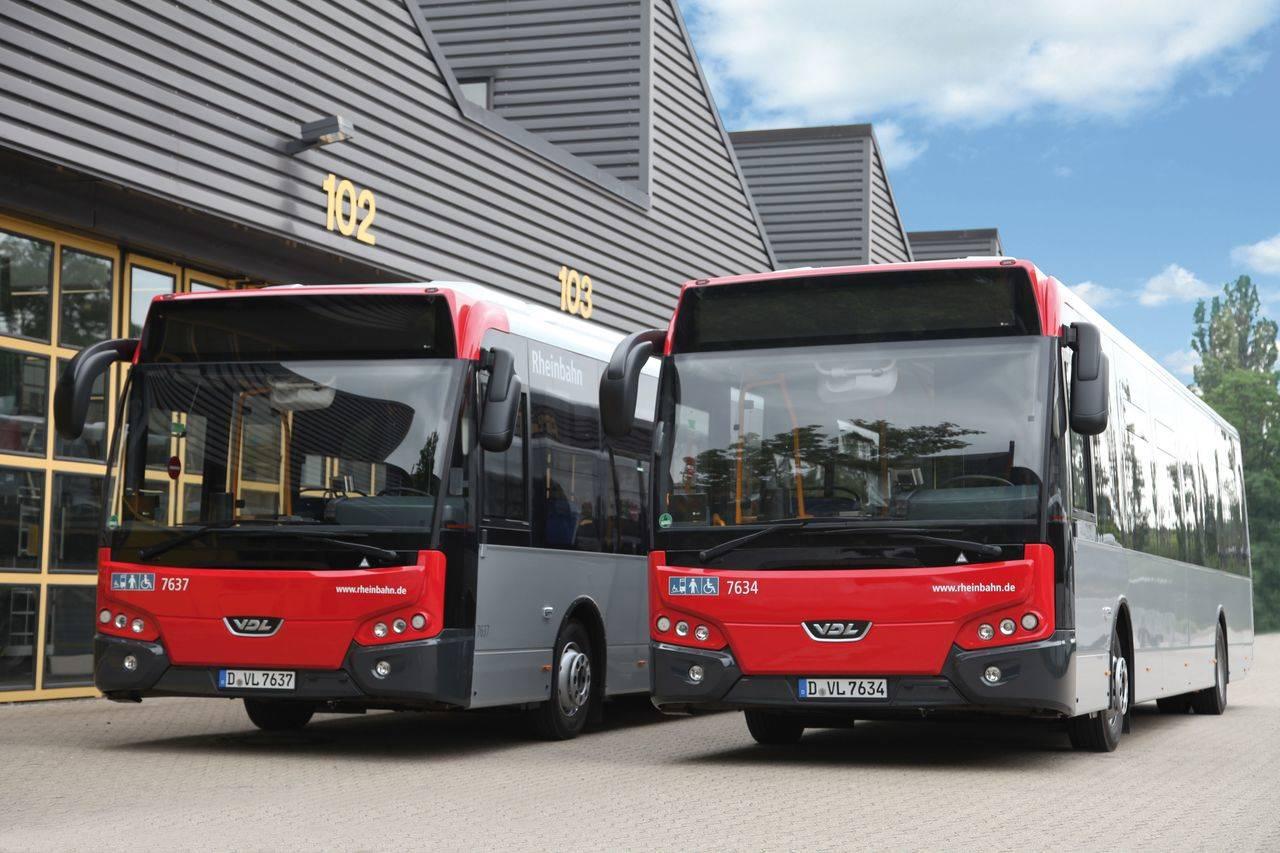 Rheinbahn hace un pedido de 80 Citea LLE a VDL