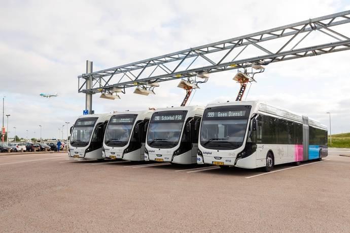 VDL Bus & Coach presenta la flota de autobuses eléctricos más grande de Europa