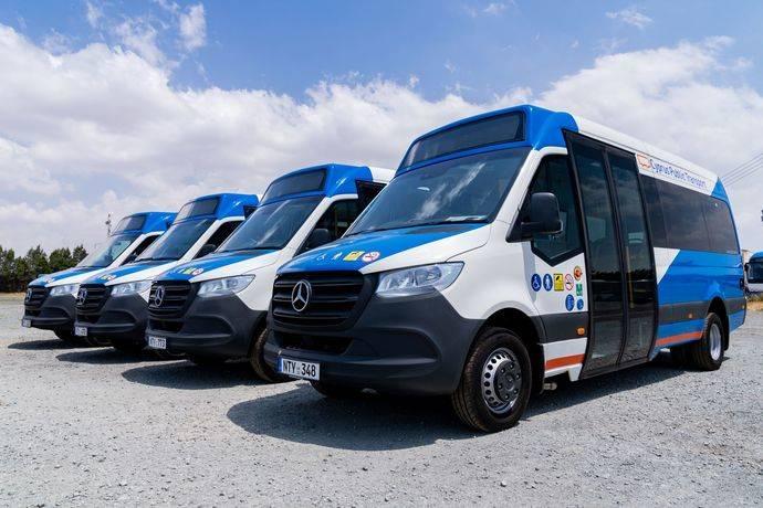 VDL suministra 65 microbuses al transporte público de Chipre