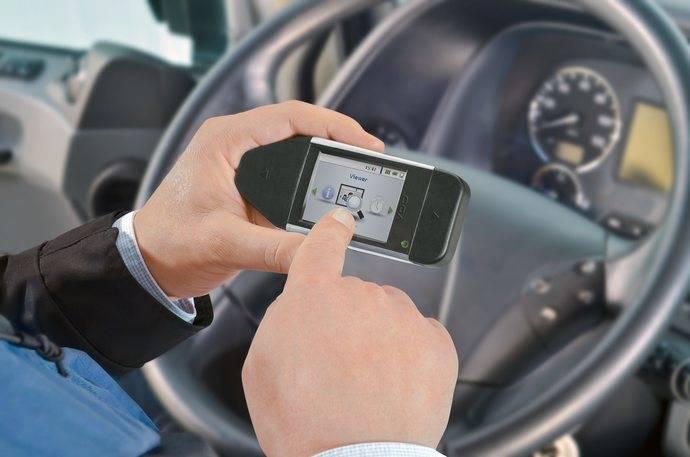 Llave de descarga DLK Pro de VDO, producto innovador de ayuda al conductor
