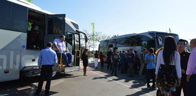 Vectalia incorpora 14 autocares totalmente accesibles a su flota