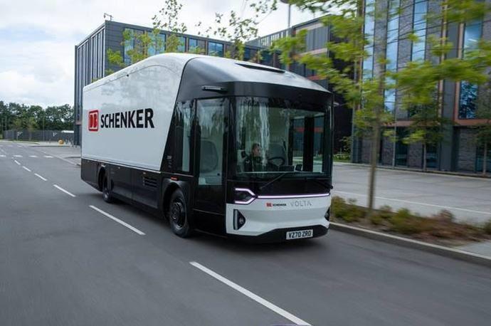 Volta Trucks llega sostenible a la última milla, de la mano de DB Schenker