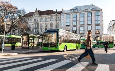 Volvo ha vendido seis autobuses eléctricos en Kungsbacka