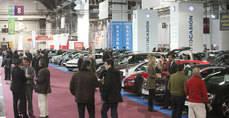 Imagen de archivo del Salón de vehículos de ocasión en Barcelona