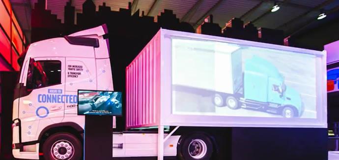 Volvo Trucks y las soluciones de conectividad en el Mobile World Congress