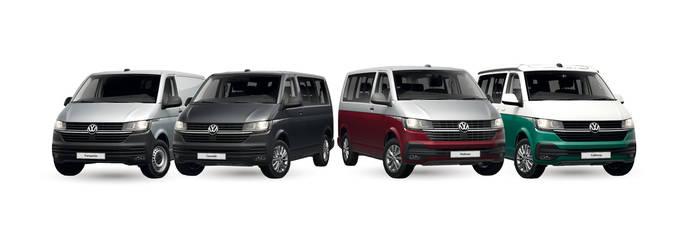 La gama T6 de Volkswagen se renueva para seguir siendo referente