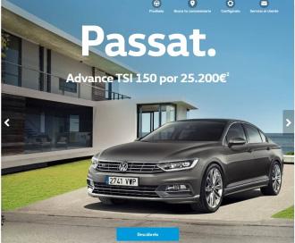 Volkswagen.es, la primera página 'web' 100% adaptada al móvil